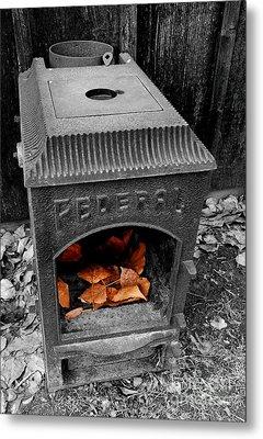 Fire Box Metal Print by Steven Milner