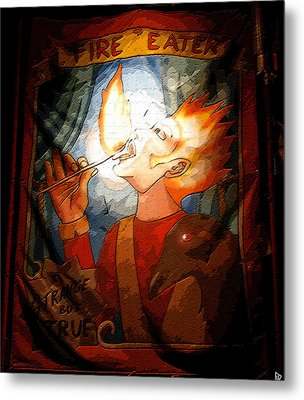 Fire Eater Metal Print by David Lee Thompson