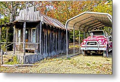 Fireman Cottage Metal Print by Douglas Barnard