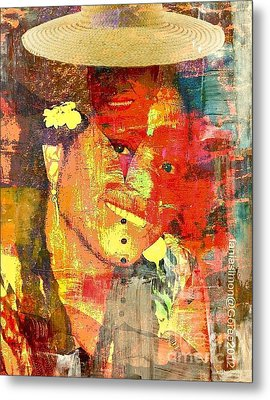 First Lady - The Republic In Mind Metal Print by Fania Simon