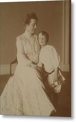 First Lady Edith Roosevelt Metal Print by Everett