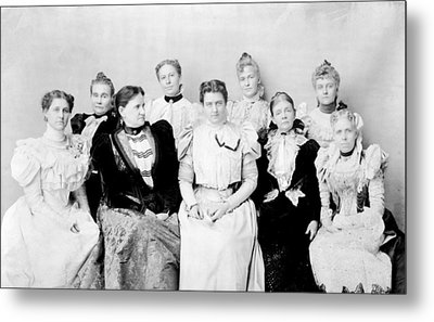 First Lady Frances Folsom Cleveland Metal Print by Everett