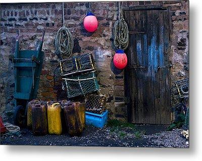 Fishermans Supplies Metal Print by John Short
