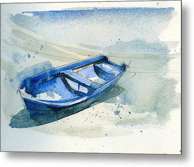 Fishing Boat Metal Print by Stephanie Aarons