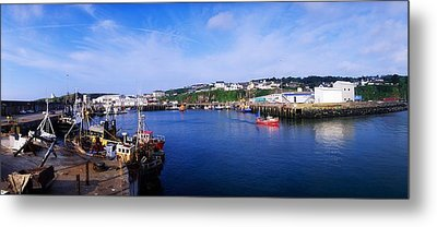 Fishing Harbour, Dunmore East, Ireland Metal Print by The Irish Image Collection