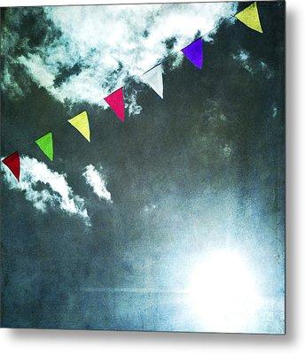 Flags Metal Print by Bernard Jaubert