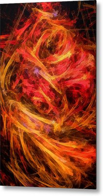 Flamboyance Metal Print by RochVanh