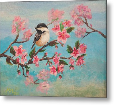 Flathead Spring Blossoms Metal Print by Misty Mueller