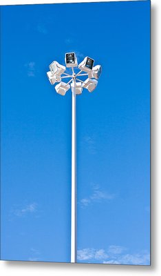 Floodlight Metal Print by Tom Gowanlock