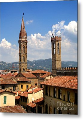 Florence Italy - 03 Metal Print by Gregory Dyer