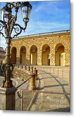 Florence Italy - Pitti Palace - 01 Metal Print by Gregory Dyer