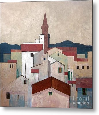 Florence Rooftops Metal Print by Micheal Jones