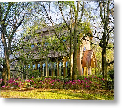 Florida The Baughman Center Metal Print by Russell Grace