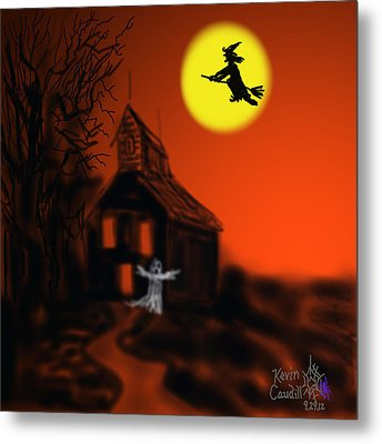 Fly By Night Metal Print by Kevin Caudill