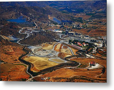 Flying Over Spanish Land II Metal Print by Jenny Rainbow