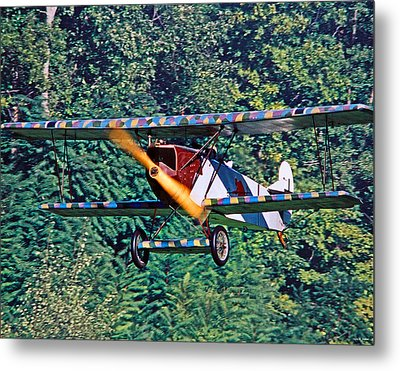 Fokker Dvii 02 Metal Print by Jeff Stallard