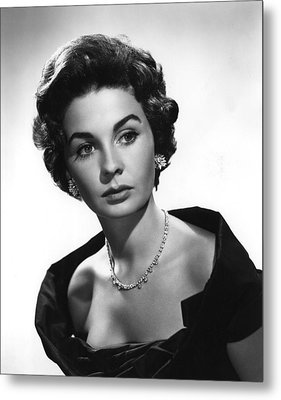 Footsteps In The Fog, Jean Simmons, 1955 Metal Print by Everett