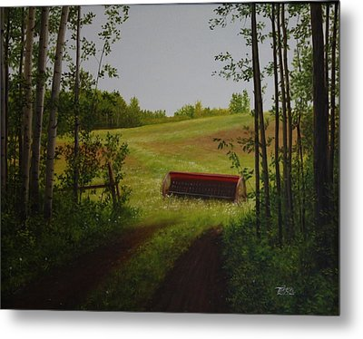 For Everything There Is A Season Metal Print by Tammy  Taylor