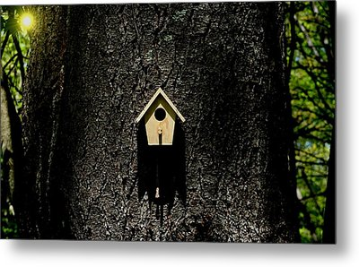For Rent Metal Print by Barbara S Nickerson