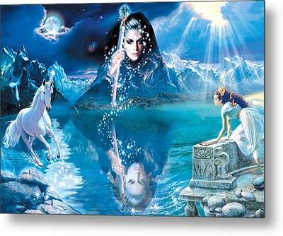 Fortunes Dream Metal Print by Andrew Farley