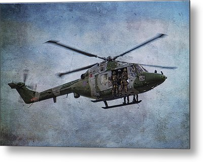 Fours Up Metal Print by Dave Godden