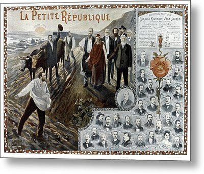 France: Socialism, 1900 Metal Print by Granger