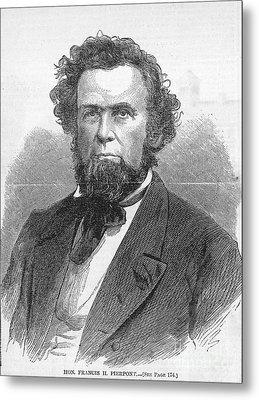 Francis H. Pierpont (1814-1899) Metal Print by Granger
