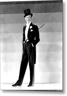 Fred Astaire, 1930s Metal Print by Everett