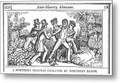 Freedman Enslaved, 1839 Metal Print by Granger
