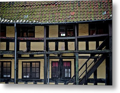 Freehand Architecture Metal Print by Odd Jeppesen