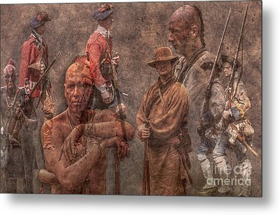 French And Indian War 1754 - 1763 Metal Print by Randy Steele