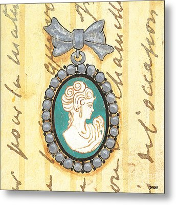 French Cameo 1 Metal Print by Debbie DeWitt