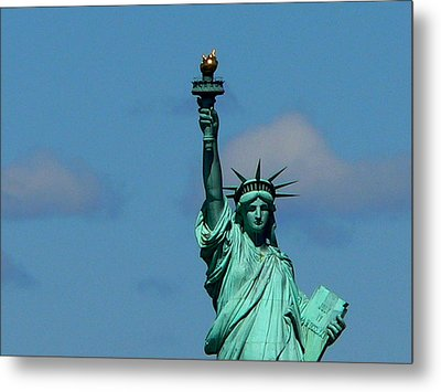 French Gift Metal Print by Eric Tressler