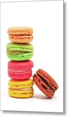 French Macaroons Metal Print by Ursula Alter