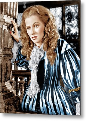 Frenchmans Creek, Joan Fontaine, 1944 Metal Print by Everett