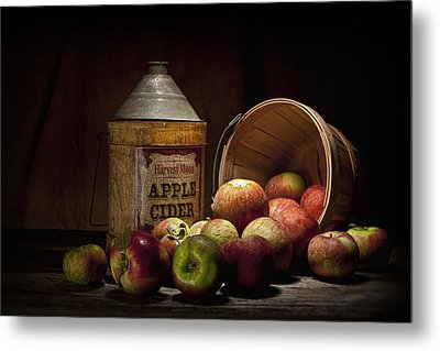 Fresh From The Orchard II Metal Print by Tom Mc Nemar