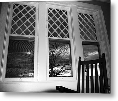 From An 1870's House's Pov Metal Print by Betsy C Knapp