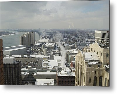 From Atop The Guardian 1758 Metal Print by Michael Peychich