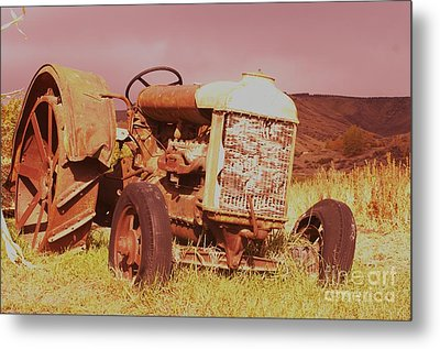 From Harvests Gone By   Metal Print by Jeff Swan