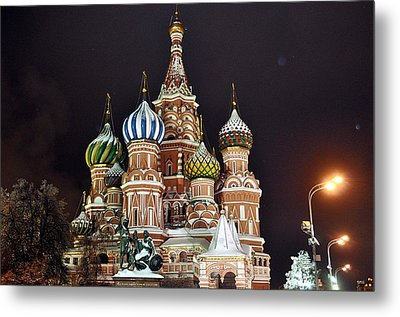 From Russia With Love Metal Print by Kevin Askew