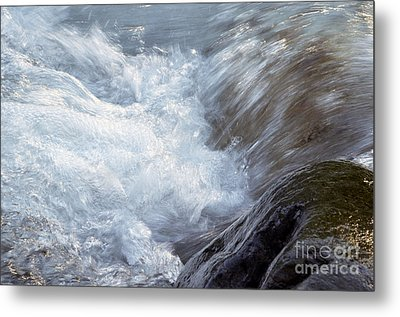 Froth Metal Print by Sharon Talson