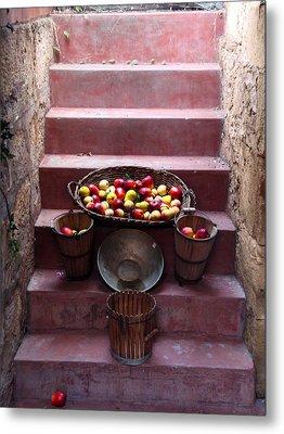 Fruit Basket Metal Print by Kelly Jones