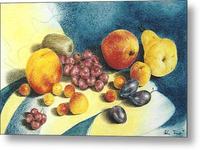 Fruit Metal Print by Helene Schmittgen