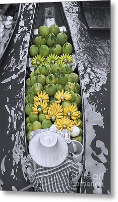 Fruits Metal Print by Roberto Morgenthaler