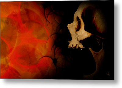 Frustration Metal Print by Vic Weiford