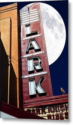 Full Moon Over The Lark - Larkspur California - 5d18489 Metal Print by Wingsdomain Art and Photography