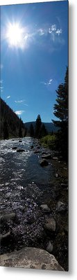 Gallatin River Metal Print by Ken Peterson