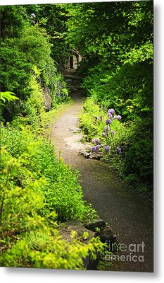 Garden Path Metal Print by Elena Elisseeva