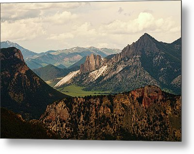 Gateway To Yellowstone National Park Metal Print by Flash Parker