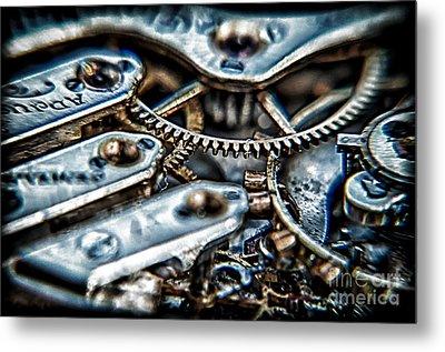 Gears Of Time Metal Print by Noah Graham